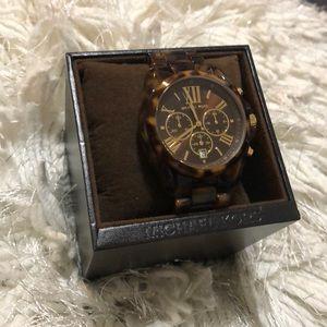 Michael Kors Watch Tortoise Shell Watch